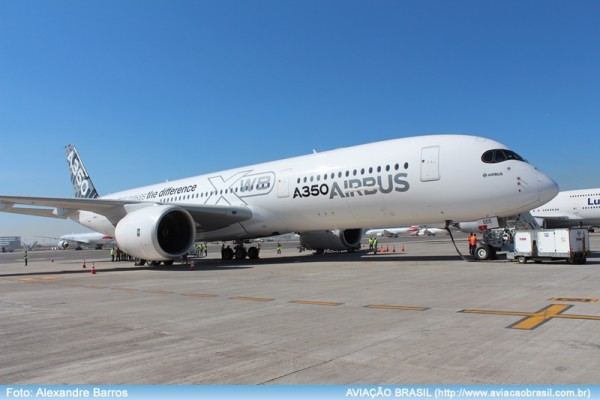 , Airbus A350XWB em São Paulo, Portal Aviação Brasil