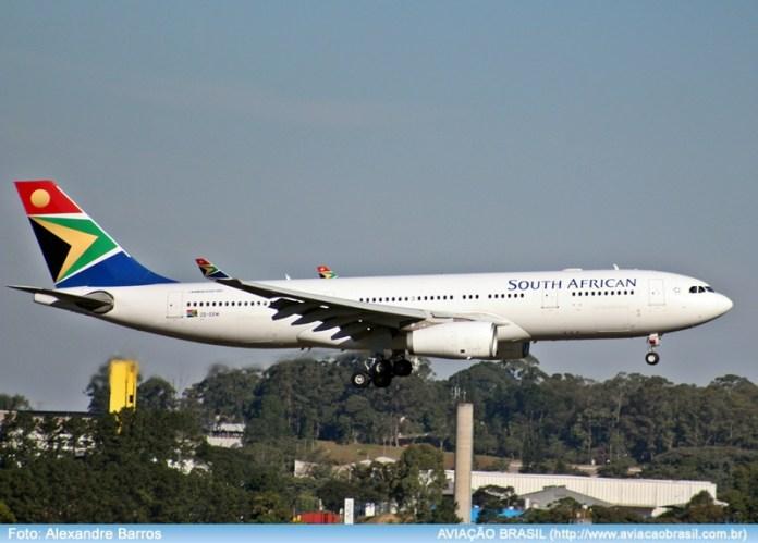South African, South African Airways (África do Sul), Portal Aviação Brasil