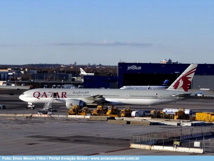 , A Qatar Airways ativa a solução de rastreamento global de voos em tempo real da Inmarsat, Portal Aviação Brasil