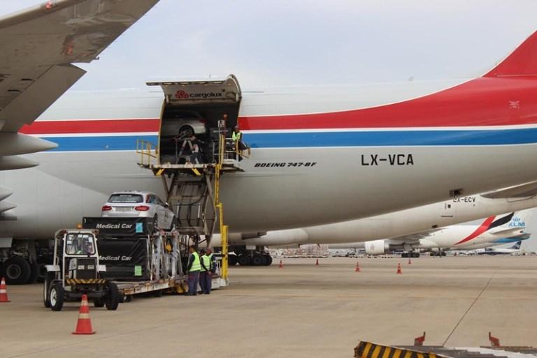 Demanda anual de carga cai 3,5% em outubro