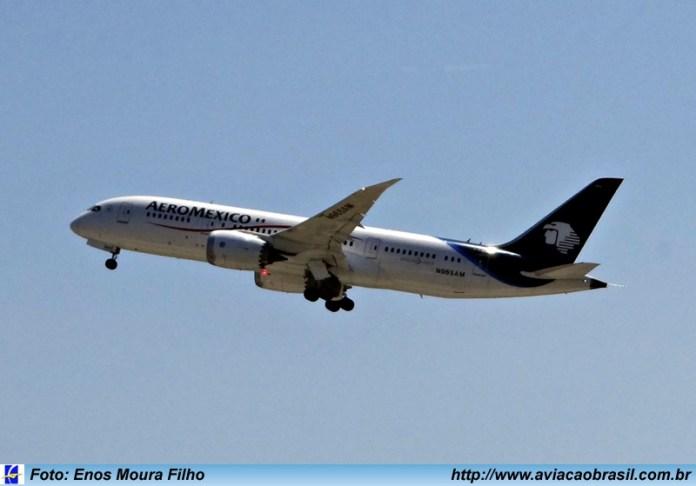 Aeromexico, Aeromexico (México), Portal Aviação Brasil