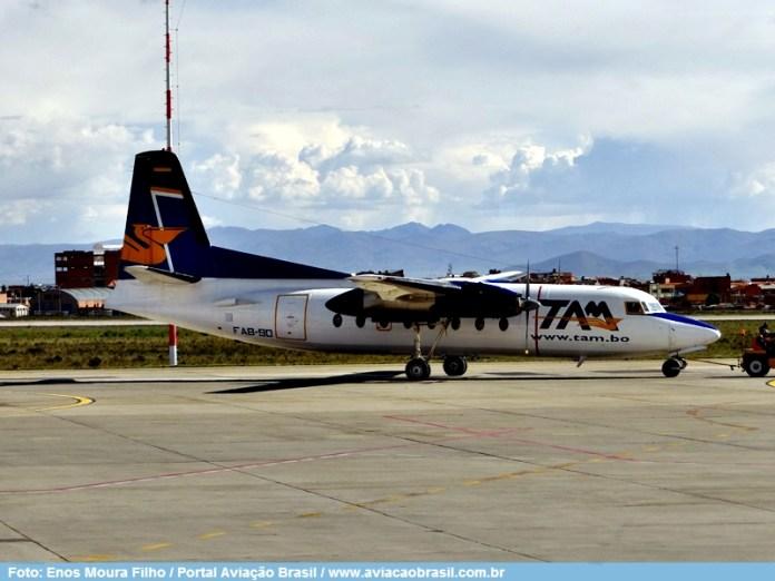 , TAM – Transporte Aereo Militar (Bolívia), Portal Aviação Brasil