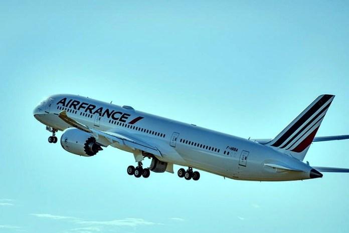 Air France com Boeing 787-900 em São Paulo, Air France com Boeing 787-900 em São Paulo, Portal Aviação Brasil