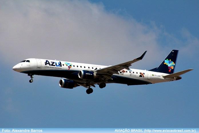 azul linhas aéreas, Azul quer ampliar liderança na rota Porto Alegre – Montevidéu, Portal Aviação Brasil