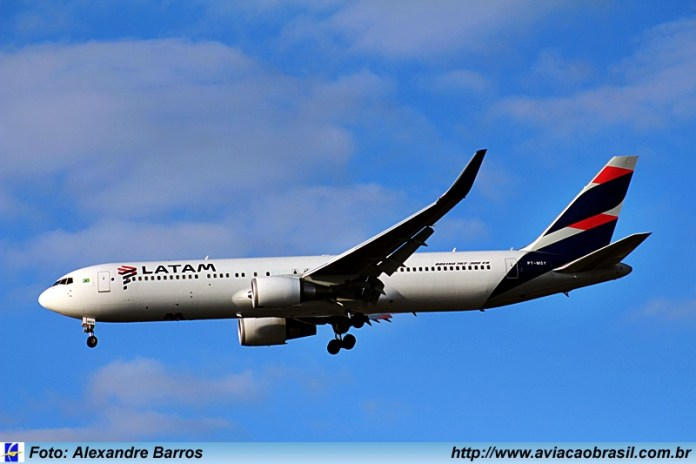 Latam Airlines Brasil; Las Vegas;, Latam Airlines Brasil voará para Las Vegas, Portal Aviação Brasil