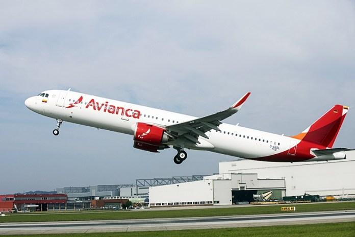 Avianca; Colombia; Airbus;, Avianca Colombia recebe seu primeiro Airbus A321Neo, Portal Aviação Brasil