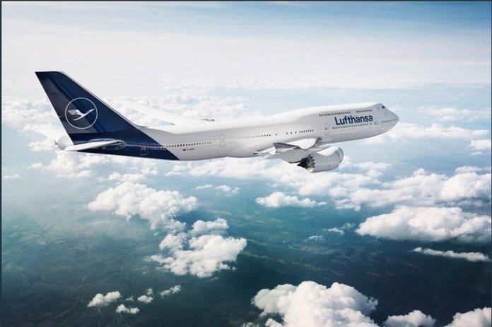 Lufthansa com nova imagem corporativa