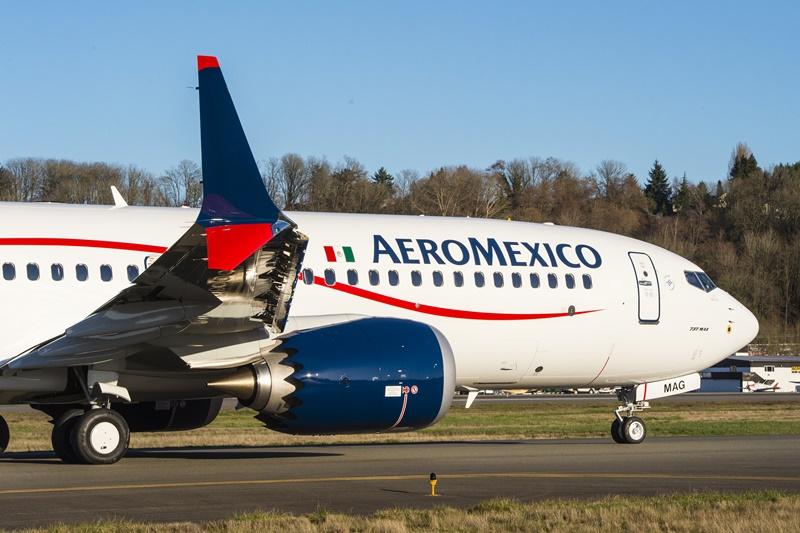 Aeromexico, Aeromexico recebe seu primeiro Boeing 737 MAX-8, Portal Aviação Brasil