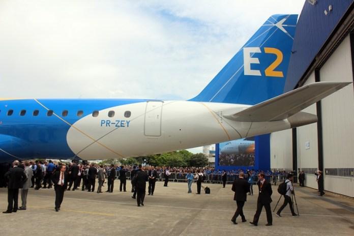 Noticias da Embraer em Farnborough Airshow
