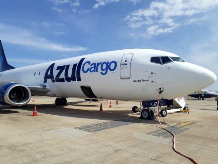 Azul, Chegou o Boeing 737 Cargueiro da Azul!, Portal Aviação Brasil
