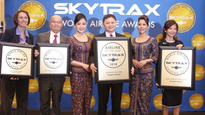 World Airline Award, Aviação Brasil lista as vencedoras do World Airlines Award 2018 que operam no Brasil, Portal Aviação Brasil