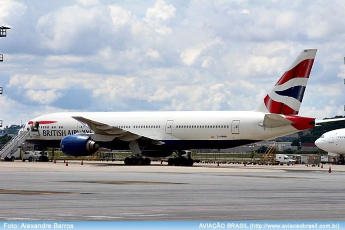 British, British Airways (Inglaterra), Portal Aviação Brasil