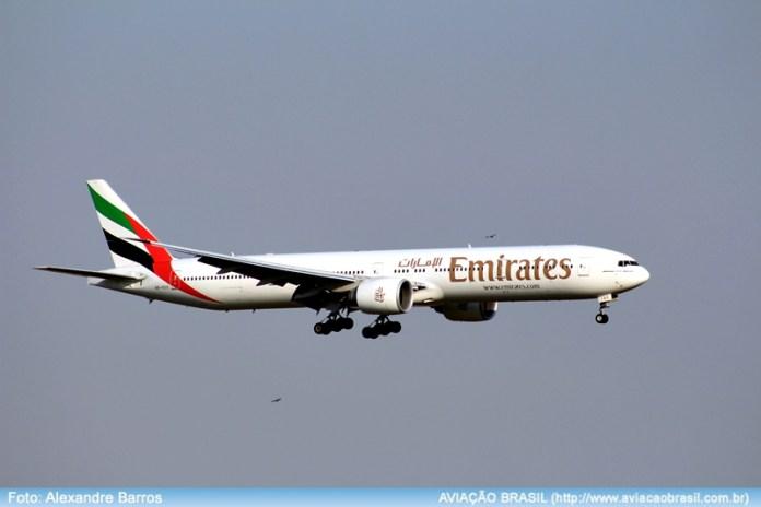 Emirates aumenta número de voos entre São Paulo e Dubai