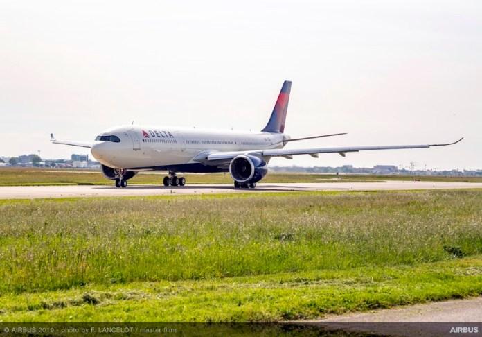 Airbus A330-900neo, Airbus A330-900Neo da Delta Airlines realiza voo de teste, Portal Aviação Brasil