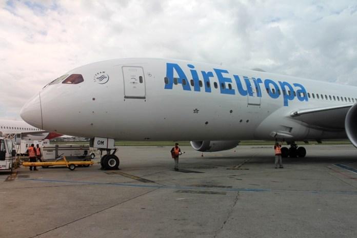Europa, Número de voos da Air Europa para o Brasil vai dobrar, Portal Aviação Brasil