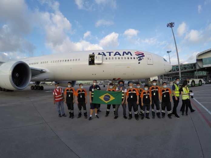 Último voo da Latam na operação do Ministério da Infraestrutura