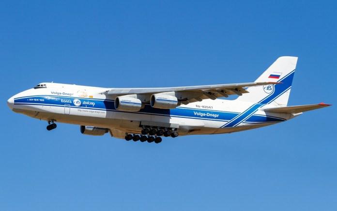 Um Antonov-124 novamente em Viracopos