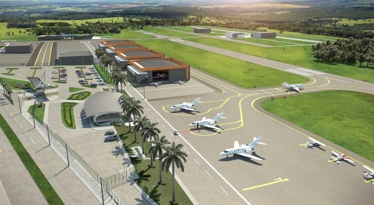 Goiás vai ganhar novo aeroporto privado e um novo polo aeronáutico