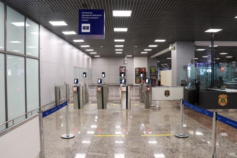 Controle eletrônico de passaportes entra em funcionamento no Porto Alegre Airport