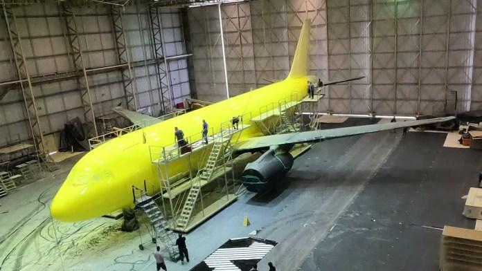 Veja o vídeo da customização da 1ª aeronave da Itapemirim Transportes Aéreos