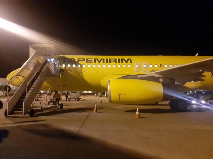 Itapemirim incorpora terceiro Airbus A320 em suas operações