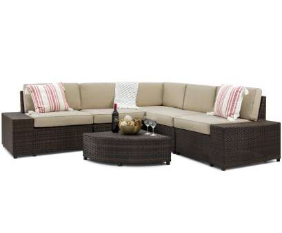 outdoor sofa gewohnliche best choice products 6 piece wicker sectional sofa patio furniture w 5 seats corner coffee table padded cushions no assembly required brown aviacia