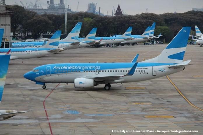 Aerolineas Argentinas - Aeroparque
