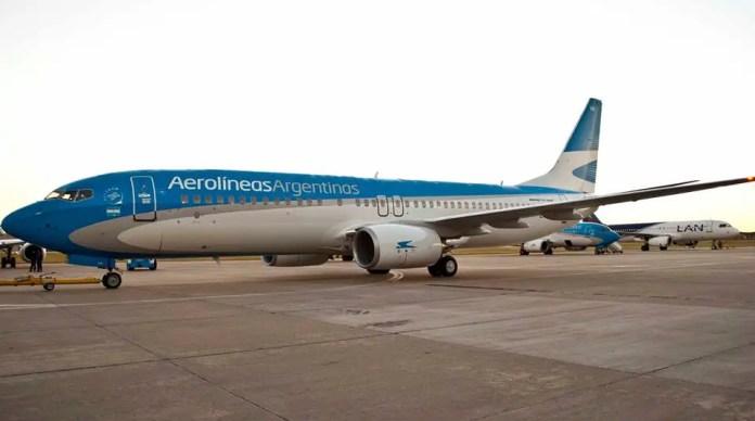Fuente fotográfica: Facebook Aerolíneas Argentinas