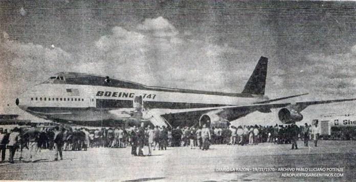 747 primera visita Argentina-foto