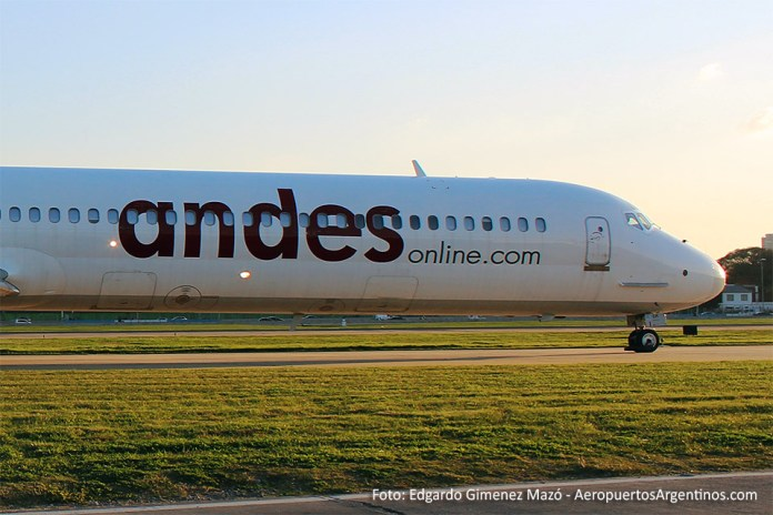 Andes - MD-83 LV-WGM