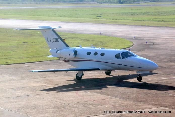 Aeropuerto de Corrientes - Cessna 510 Mustang - LV-CBO