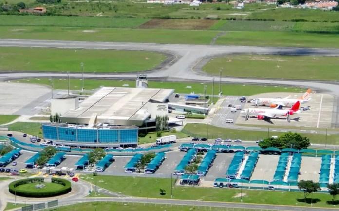 Aeropuerto de João Pessoa - Foto: sbgs.com.br