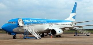 Boeing 737-800 LV-FQY de Aerolíneas Argentinas