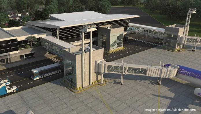 Neuquén - proyecto nueva terminal aeropuerto C