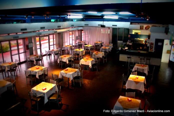 Bar del aeropuerto de Formosa.