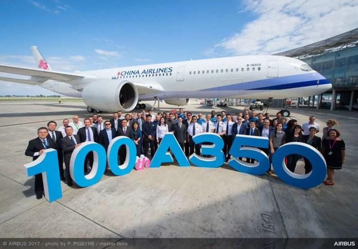 Airbus A350 XWB numero 1000