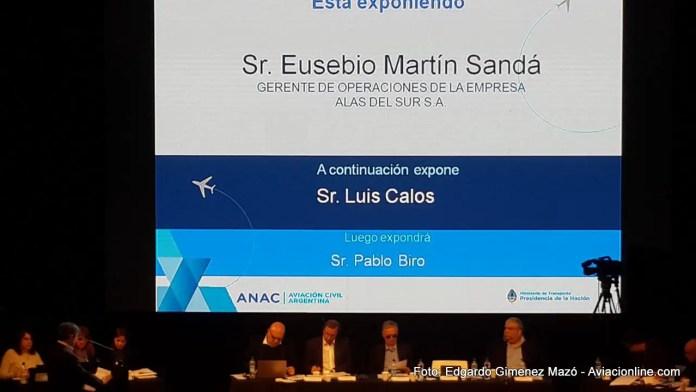 AeroAudiencia2017 - Alas del Sur