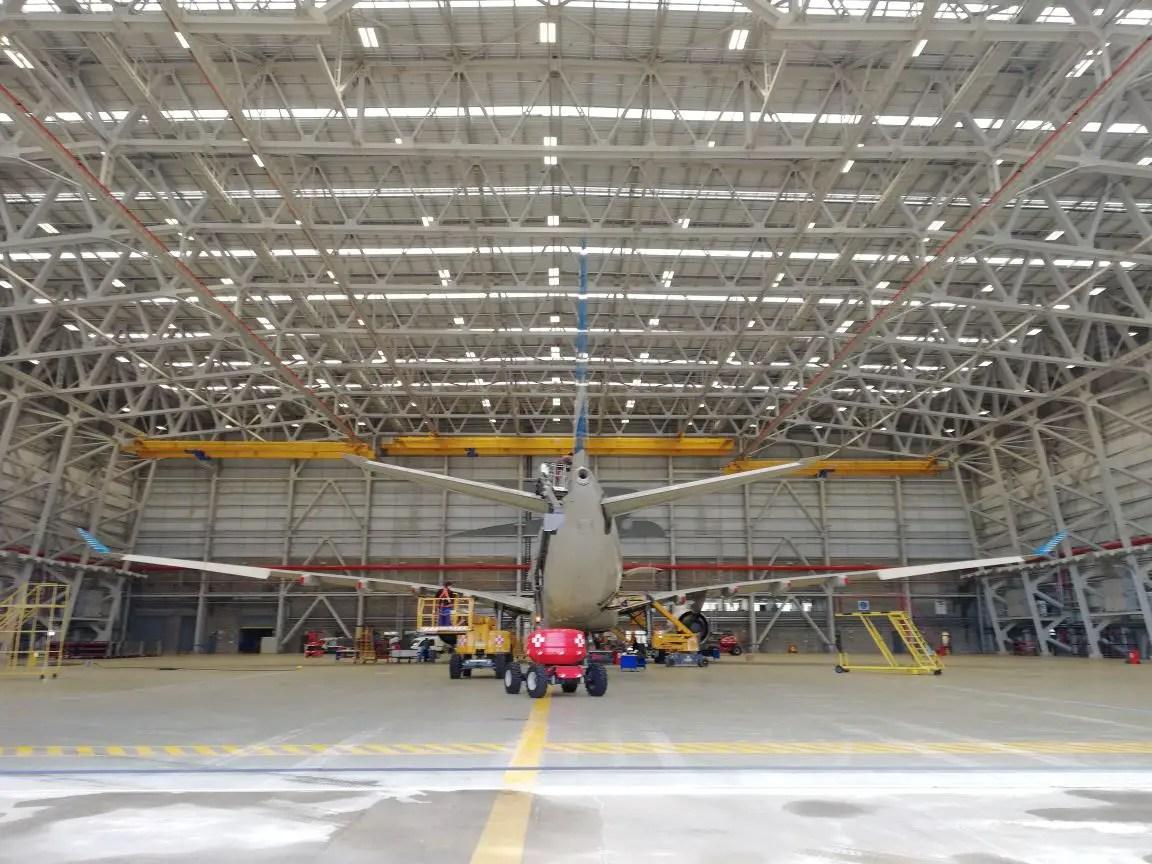 Resultado de imagen para Aerolineas Hangar Nº 5 Ezeiza
