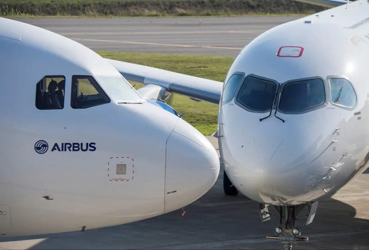 Resultado de imagen para Airbus Bombardier