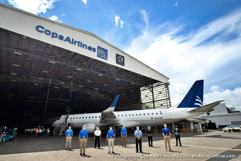 Copa Airlines inicia el retiro de sus 14 aeronaves modelo Embraer 190