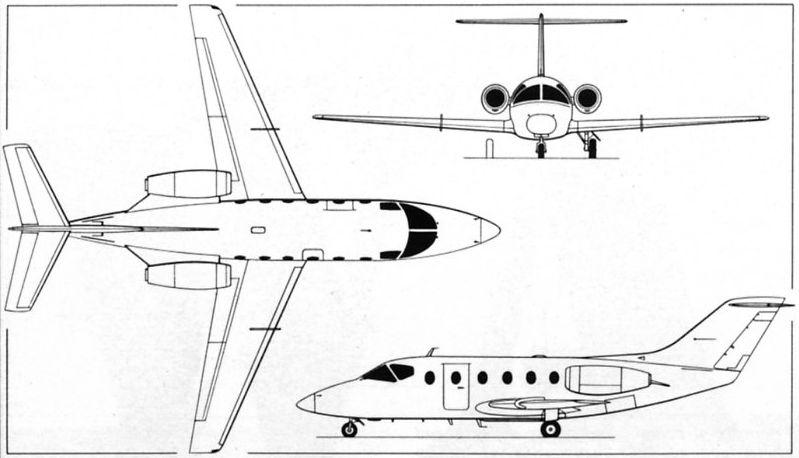 Beechcraft Model 400 Beechjet / T-1 Jayhawk