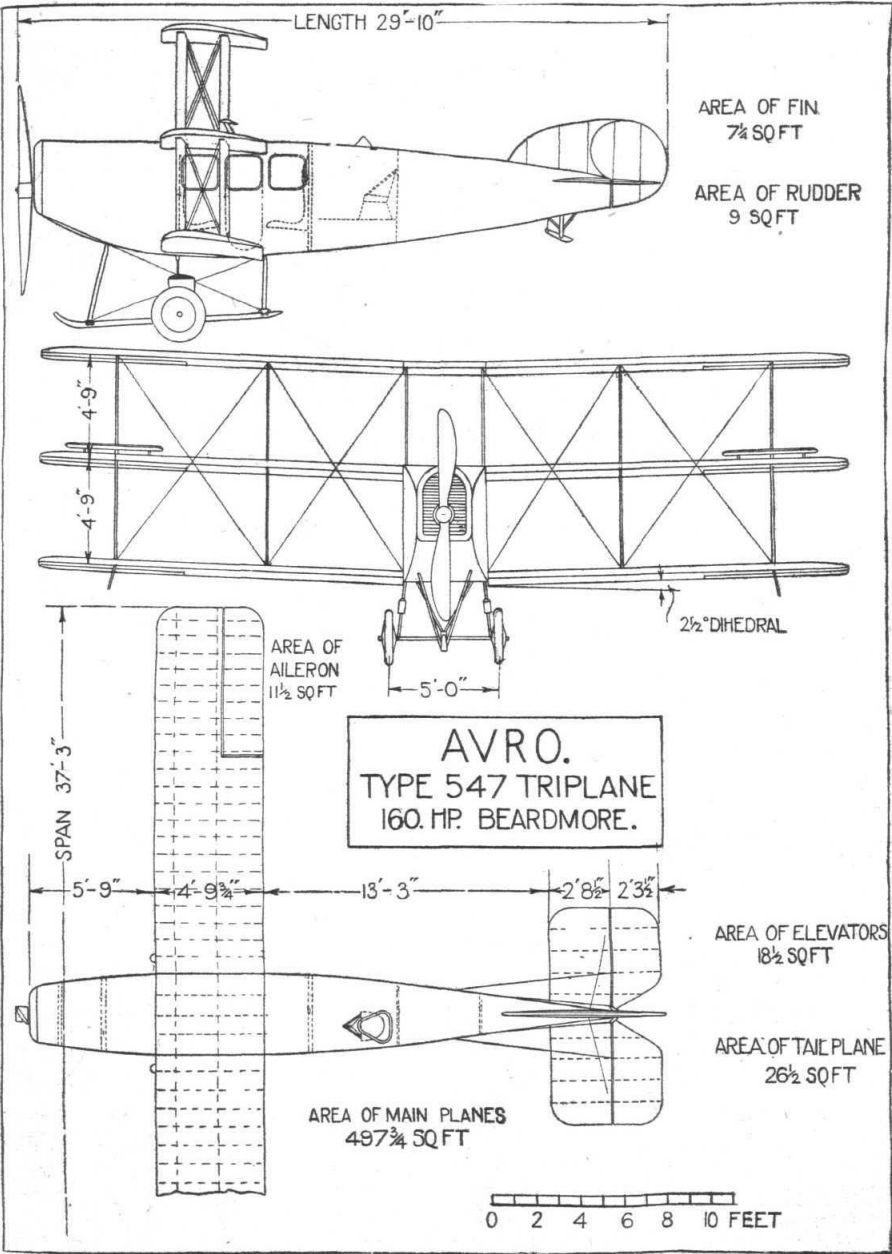 Avro Type 547