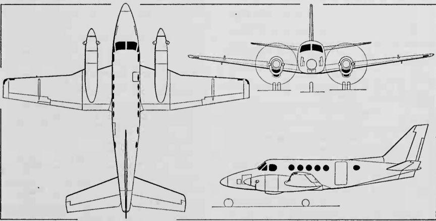 Beechcraft Model 90/100 King Air / T-44