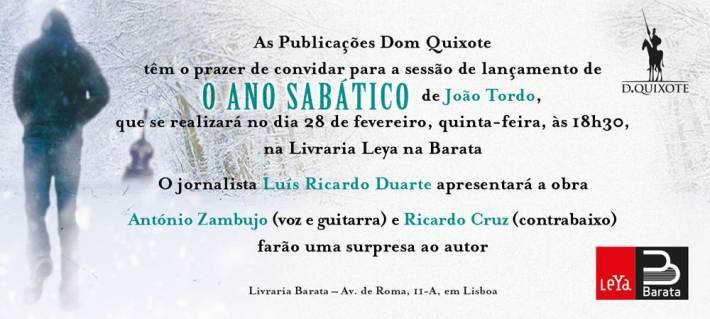 O Ano Sabático, por João Tordo