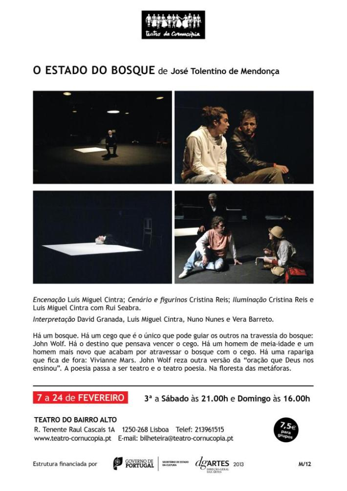 Teatro da Cornucópia - O Estado do Bosque
