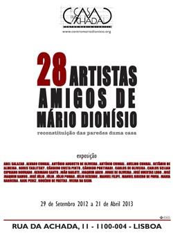 28 Artistas Amigos de Mário Dionísio