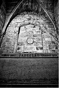 Túmulo de Castelao, no Panteão dos Galegos Ilustres