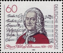 DBP_1981_1085_Georg_Philipp_Telemann