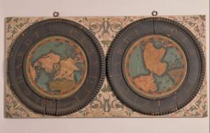 planisfério terrestre