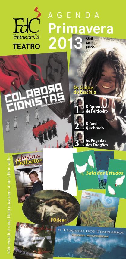 Agenda Trimestral - Primavera 2013